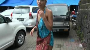 You hang out with Carmen in Bali