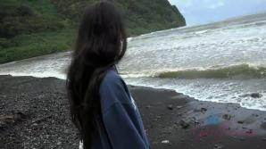 You hit the nude beach and a hidden blowjob with Mi Ha Doan